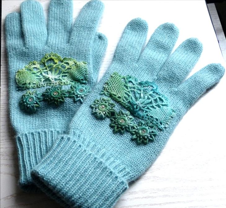 Handschuhe tuerkis