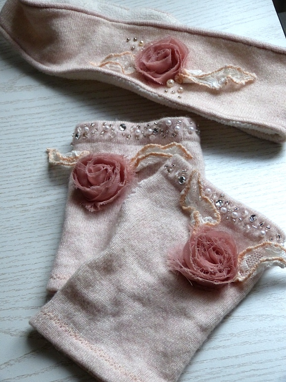 Set rosa