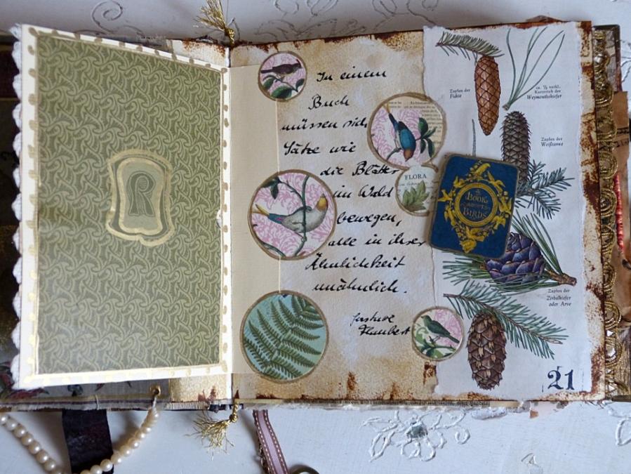 Buchprojekt: die Seiten, Teil 9 – Book Project: the Pages, Part9
