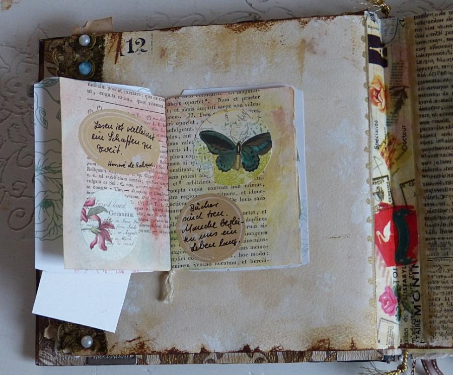 Buchprojekt: die Seiten, Teil 5 – Book Project: the Pages, Part5