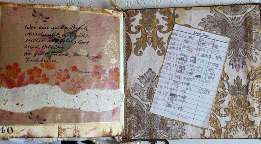 Buchprojekt: Letzte Seite – Book Project: LastPage