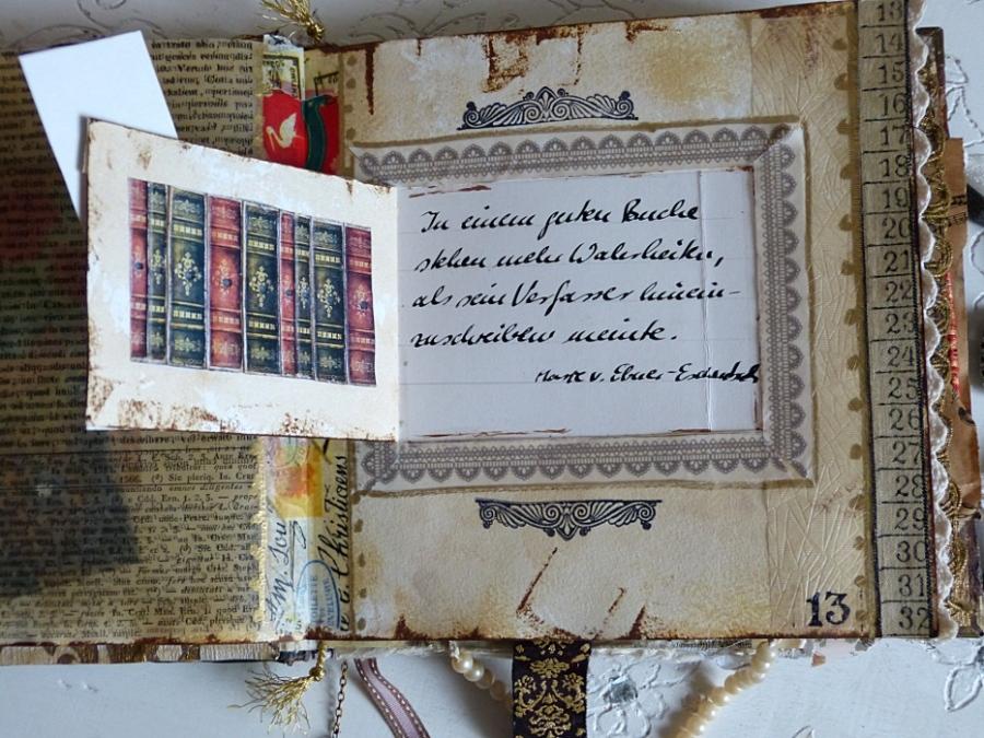 Buchprojekt: die Seiten, Teil 6 – Book Project: the Pages Part6