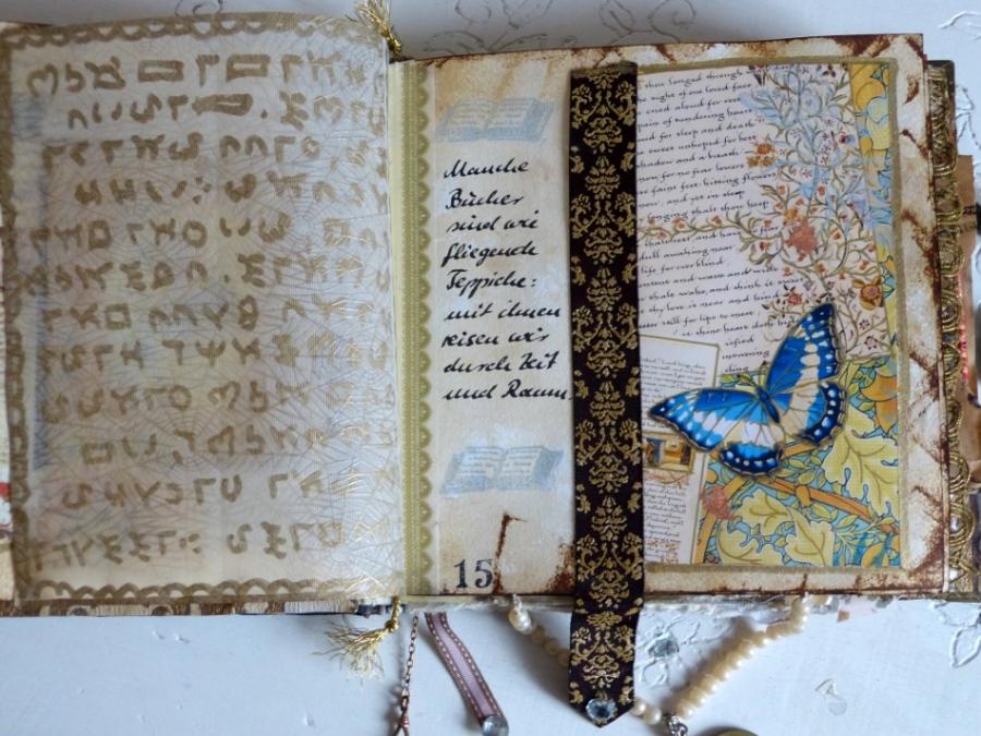 Buchprojekt: die Seiten, Teil 7 – Book Project: the Pages, Part7