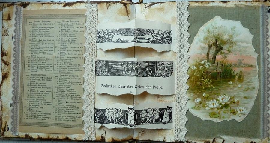 Buchprojekt: die Seiten, Teil 3 – Book Project, the Pages Part3