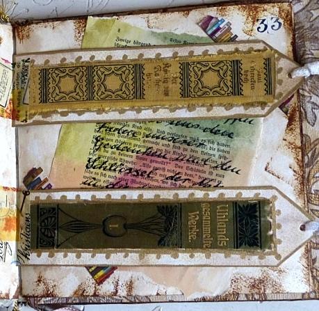 Buchprojekt: die Seiten, Teil 13 – Book Project: the Pages, Part13