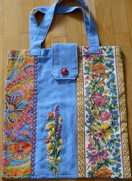Eine farbenfrohe Tasche – A ColourfulTote