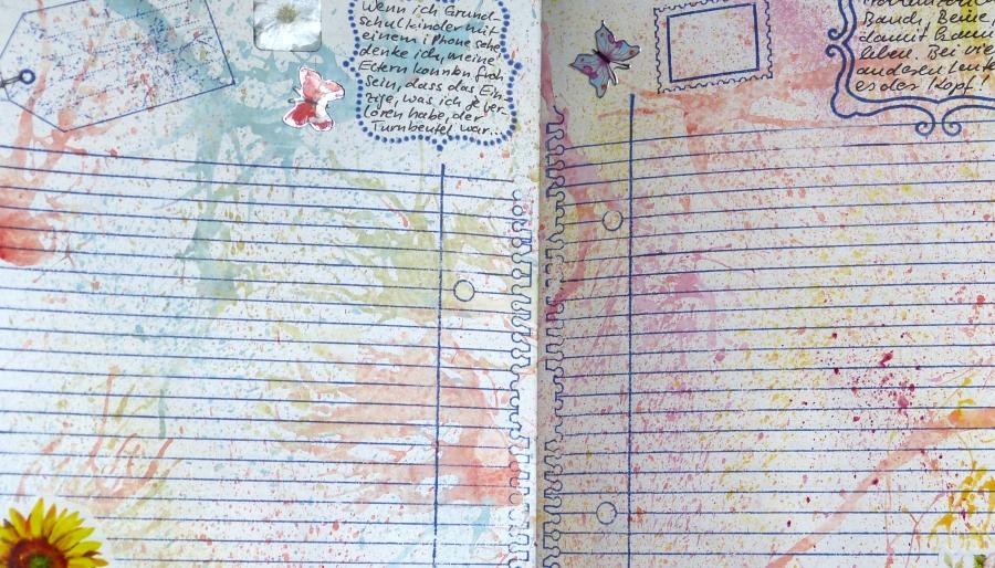 """Happy Notes"" – Ein buntesNotizbuch"