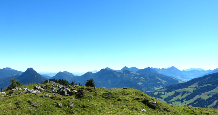 Eine kleine Bergwanderung -A Little Hiking Tour in The Bavarian Alps