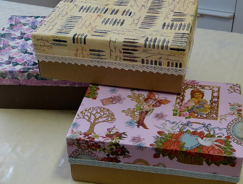 Schicke Boxen – Shabby Chic StorageBoxes