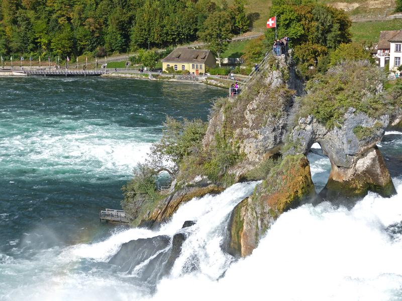 Am Rheinfall in Schaffhausen –  The Rhine Falls nearSchaffhausen