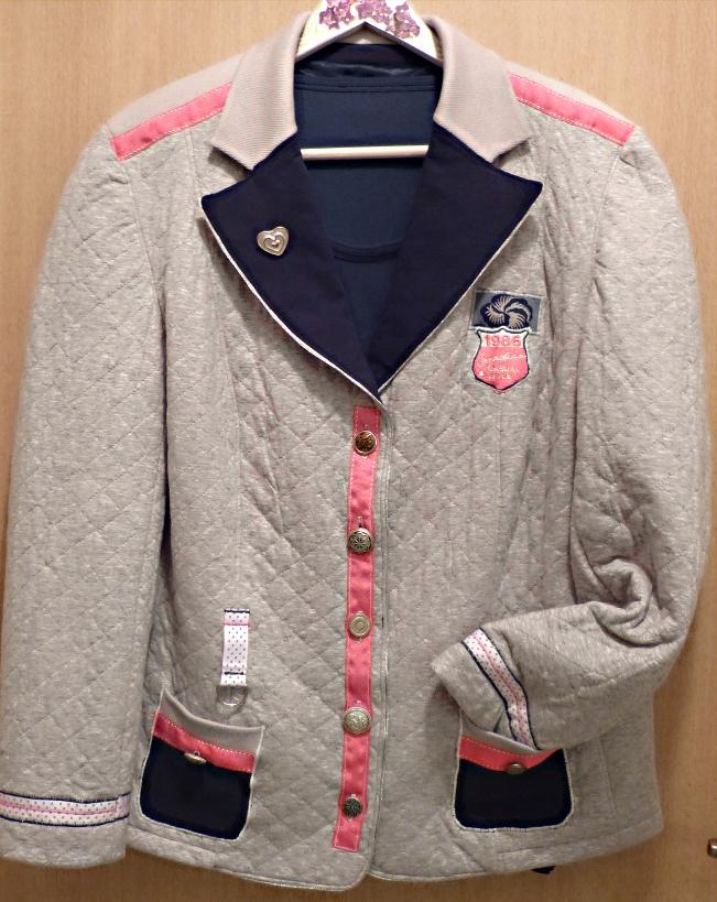 Blazerjacke im College-Stil -A College-StyleJacket