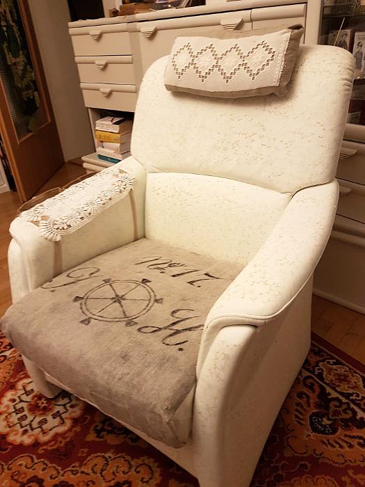 Neuer Look für einen alten Sessel – A New Look For An OldArmchair