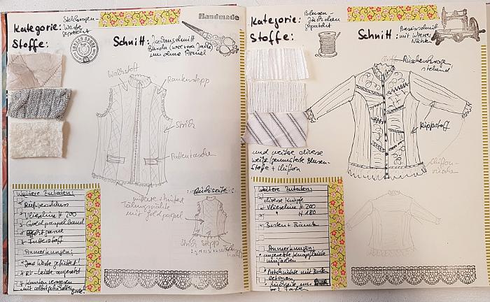 Ein Buch für Nähprojekte – A Book for SewingProjects