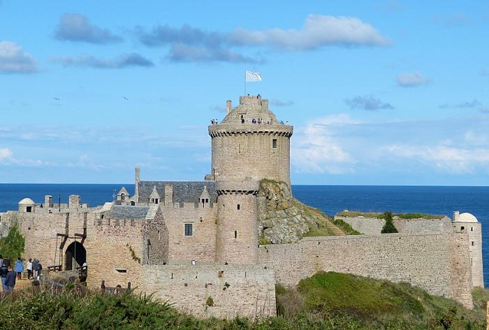 Cap Frehel und Fort La Latte – Cape Frehel and Fort LaLatte