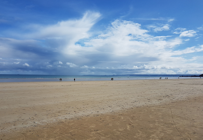 Die Bucht von St. Brieuc – The Bay of St. Brieuc