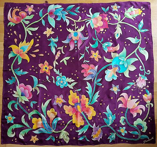 Handbemalte Seidentücher – Handpainted SilkScarves