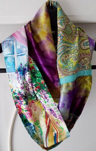 Upcycling: Patchworkschals – Upcycling: Patchwork Scarves