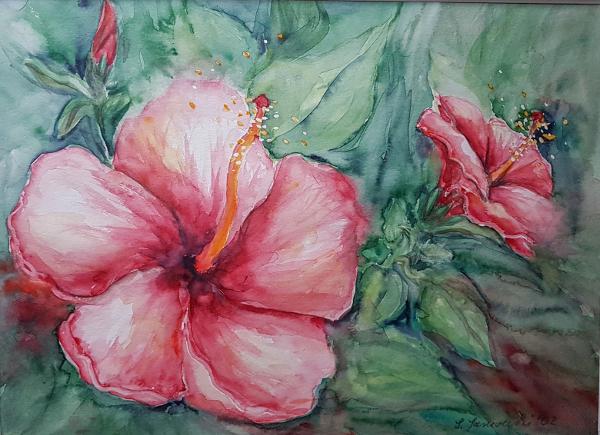 Aquarellblüten2