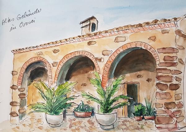 Gemalte Urlaubserinnerungen – Painted TravelSouvenirs