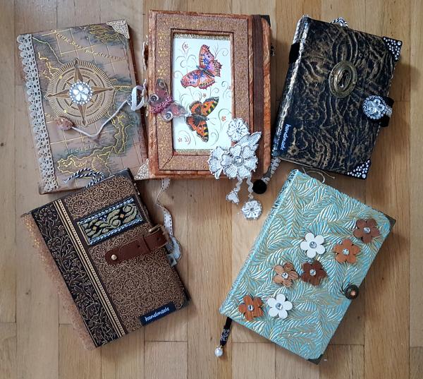 Handgemachte Notizbücher, Teil 2 – Handmade Books, Part2