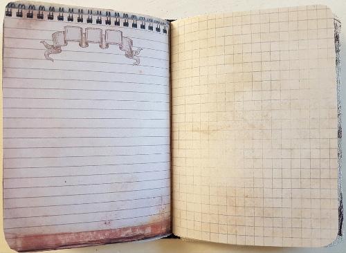 Ein Notizbuch im Vintage-Look – A Vintage StyleNotebook