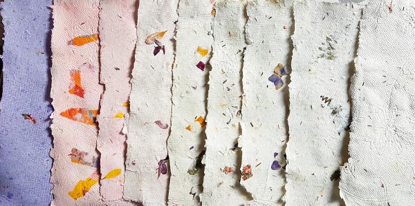 Neue handgeschöpfte Papiere – Latest HandmadePapers