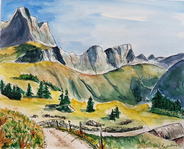 Gemalte Reiseerinnerungen – Painted TravelSouvenirs
