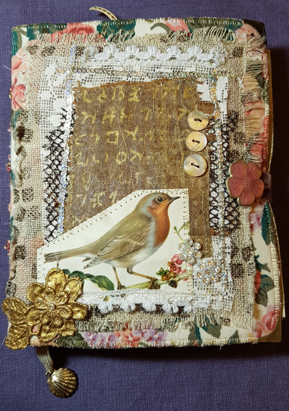 Ein Mixed-Media Notizbuch – A Mixed Media Journal