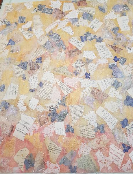 Collagenpapier-Varianten – Collage-Paper-Variants