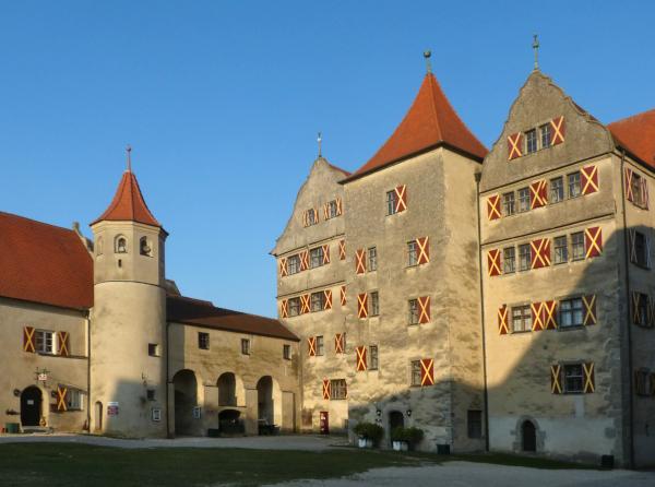Diaschau: Die Harburg bei Nördlingen – Slide Show: Harburg Castle NearNördlingen