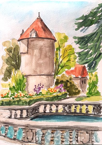 Erinnerung an das Périgord – Memories of the PérigordRegion