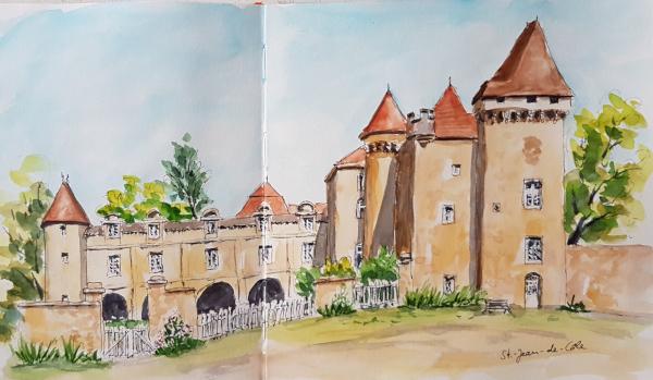 Saint-Jean-de-Côle: Château de laMarthonie