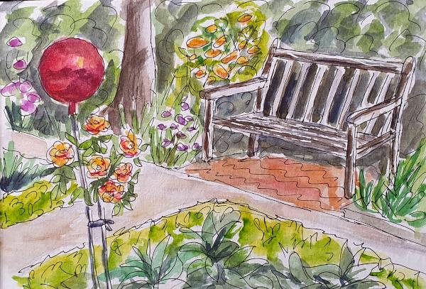 Im Botanischen Garten – In the BotanicGarden