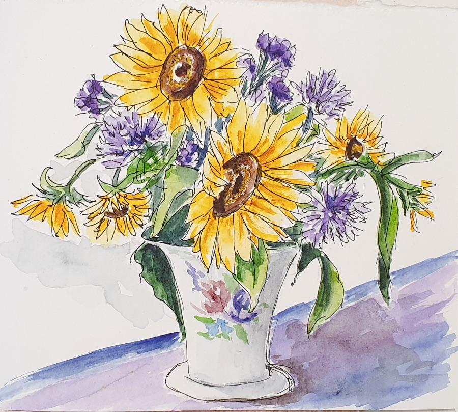 Sonnenblumen – Sunflowers