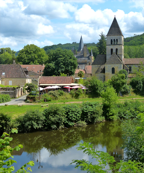 St.Léon-sur-Vézère und/and Plazac