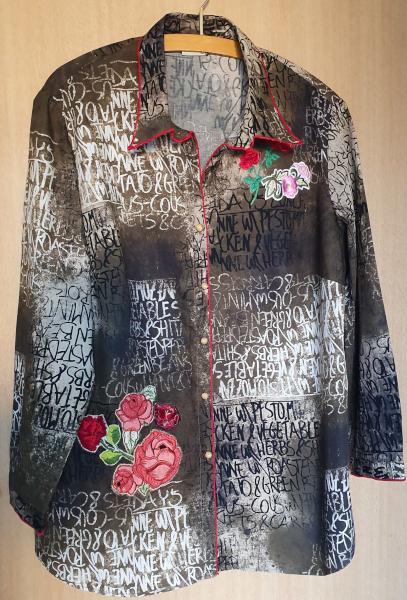 Eine aufgepeppte Bluse – A RefashionedBlouse