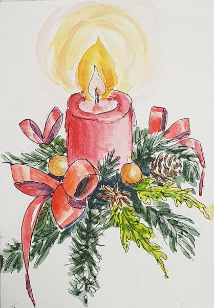 Zwei Weihnachtskarten – Two ChristmasCards