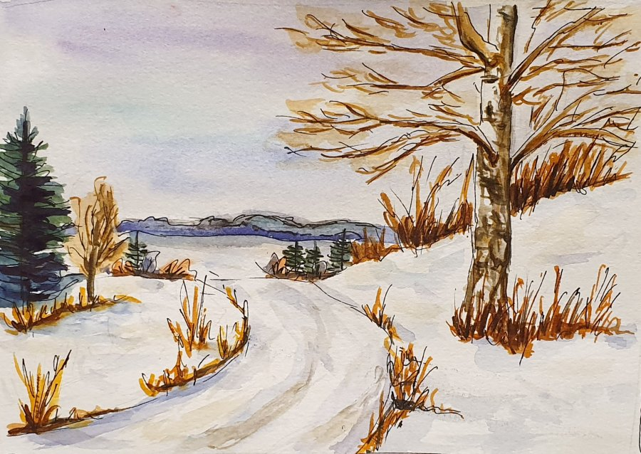 Winterlandschaft – Winter Landscape