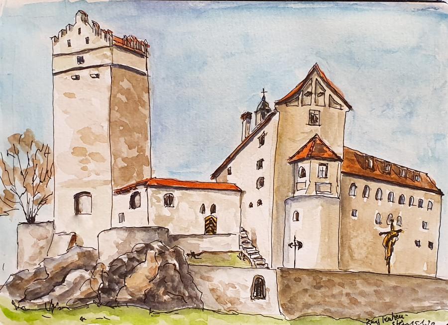 Burg Katzenstein – KatzensteinCastle