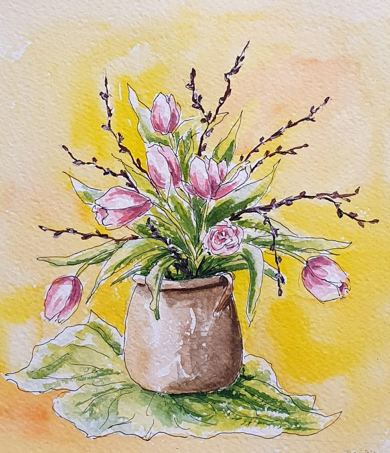 Nochmal Tulpen – Tulips,Again