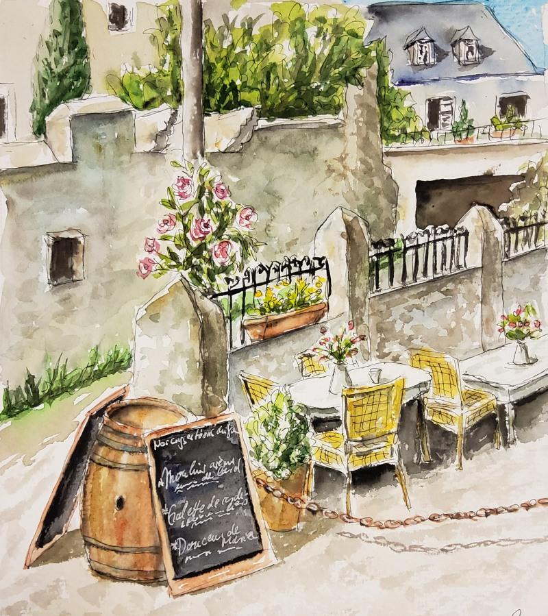 Restaurant in Dinan