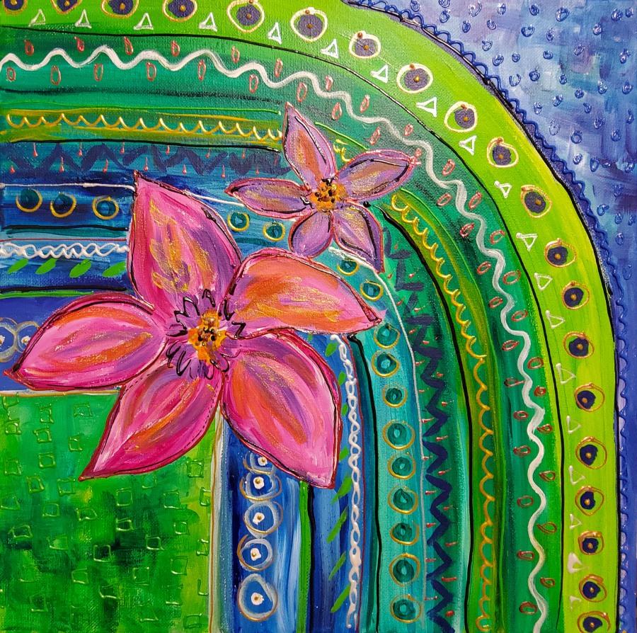 Acryl: Energie der Farben – Acrylics: ColourEnergy