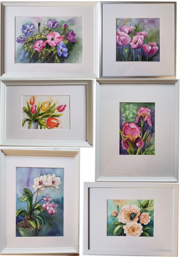 Blüten im Rahmen – FramedFlowers