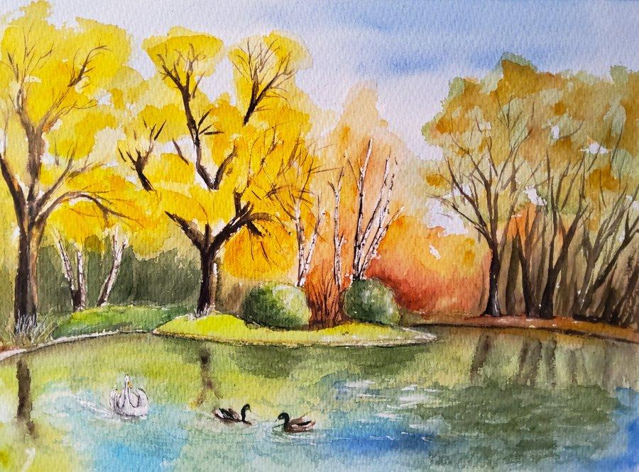 Frühling im Englischen Garten – Spring in the EnglishGarden